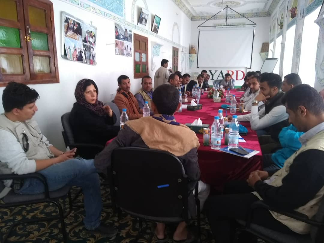 UNICEF Team Pays a Visit to YARD Al-Jawf Sub-office