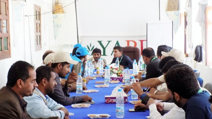YARD Hosts a Meeting with UNHCR Team Members