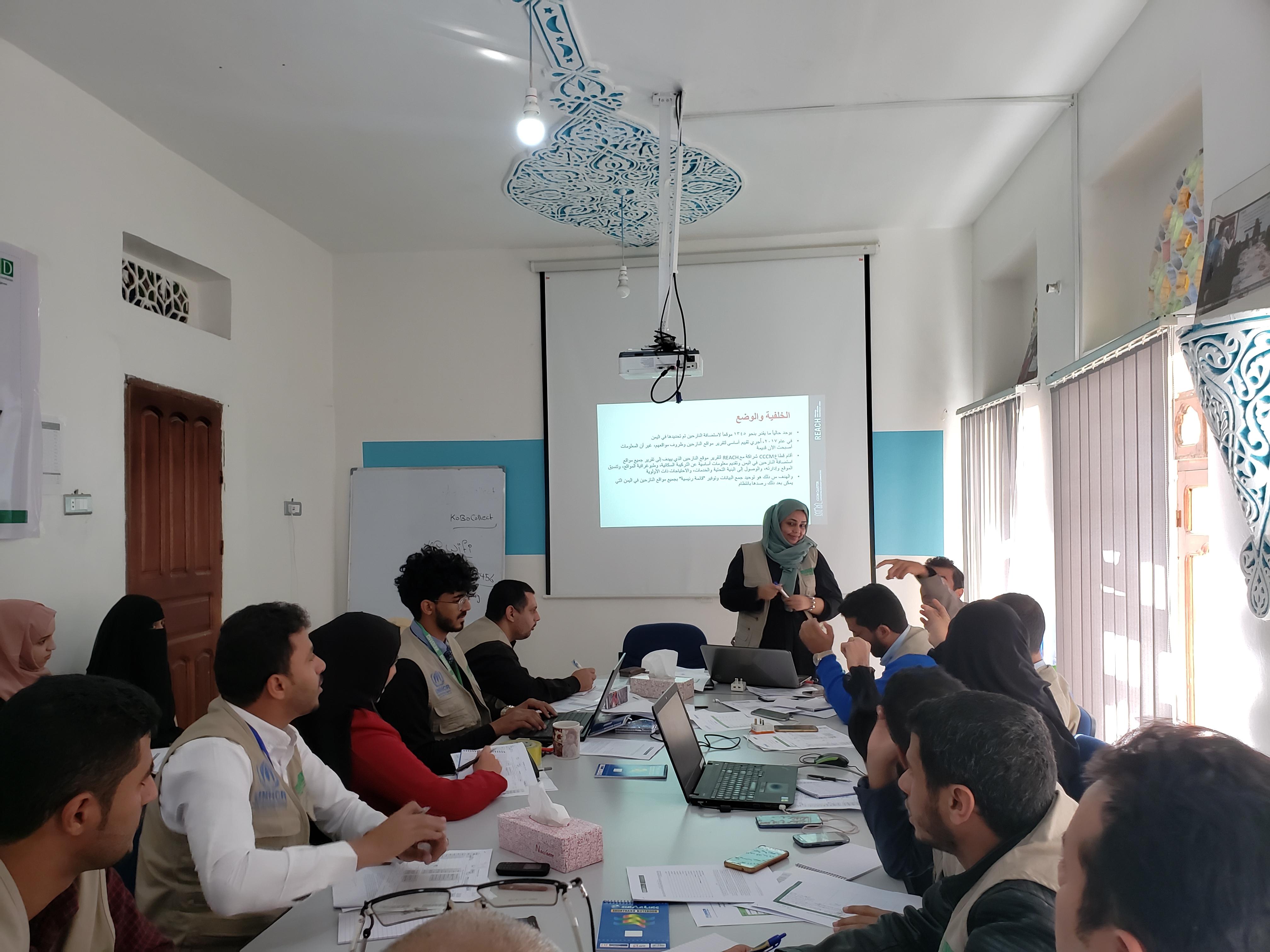 YARD holds a workshop entitled