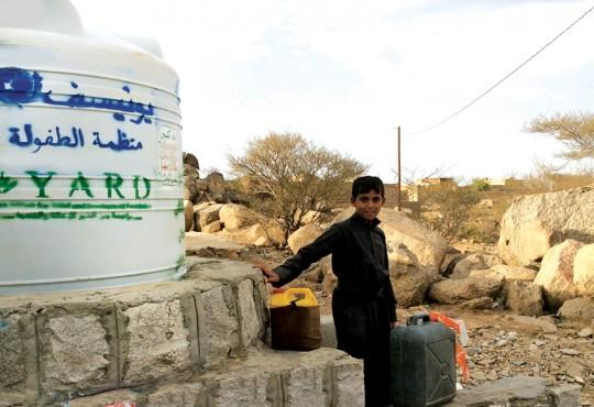المياه والإصحاح البيئي والنظافة