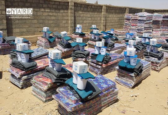 Distribuation of 1000 NFIs - March 2018